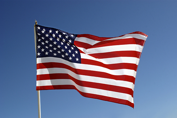 American flag Photograph by Thinkstock Images