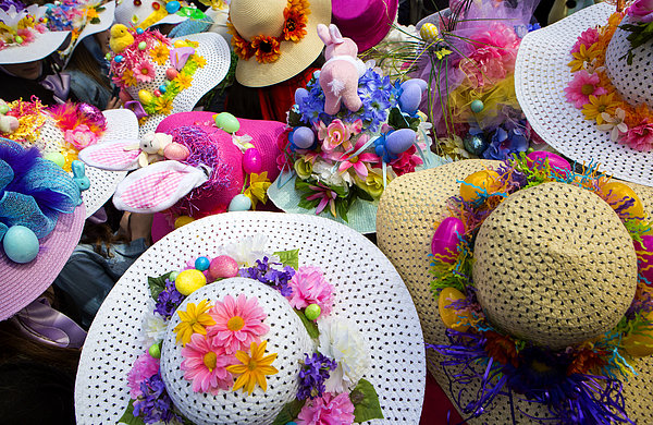 Annual Easter Parade Held On New York 5th Avenue Photograph by Eric Thayer