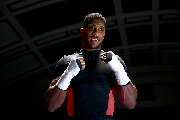 Anthony Joshua Media Workout Photograph by Jordan Mansfield