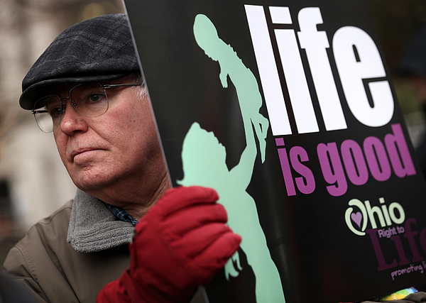 Anti-Abortion Activists Protest In Washington Photograph by Alex Wong