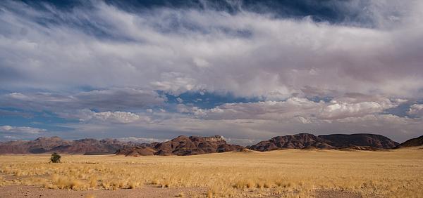 Arid landscape in Sesriem area, Namibia. Photograph by Annick Vanderschelden Photography