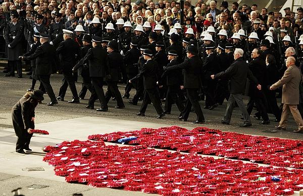 Armistice Day Remembered Photograph by Daniel Berehulak