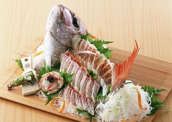 Arranged Sea Bream Sashimi Photograph by Imagenavi