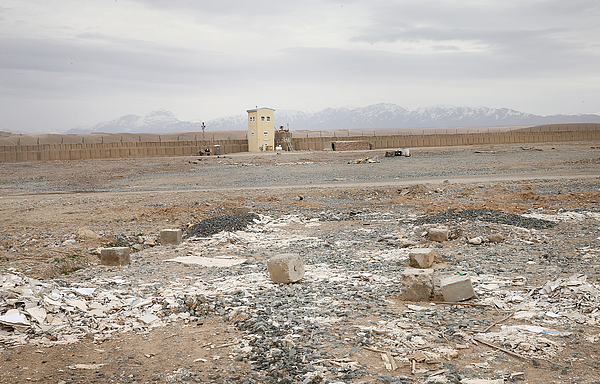 As U.S. Drawdown In Afghanistan Continues, U.S. Footprint Shrinks In The Country Photograph by Scott Olson
