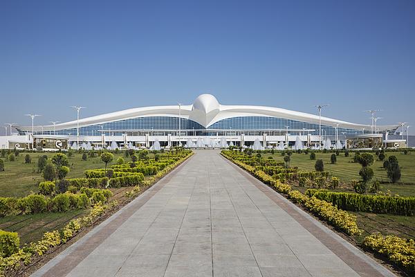 Ashgabat International Airport Photograph by Jeremy Woodhouse