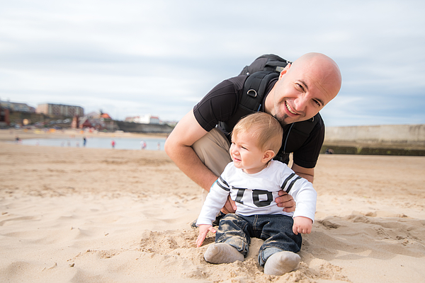 At The Beach Photograph by © Razvan Ciuca