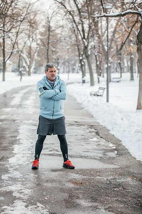 Athlete In Public Park Photograph by South_agency