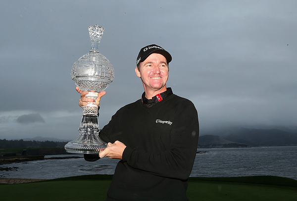 AT&T Pebble Beach National Pro-Am - Final Round Photograph by Christian Petersen