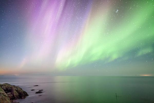 Aurora borealis Photograph by Steffen Schnur