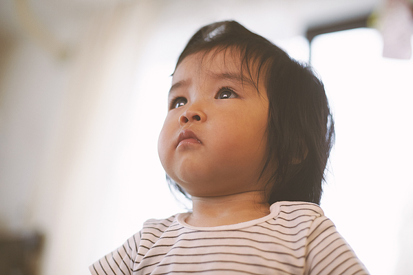 Babys shining eyes Photograph by Yosuke Suzuki