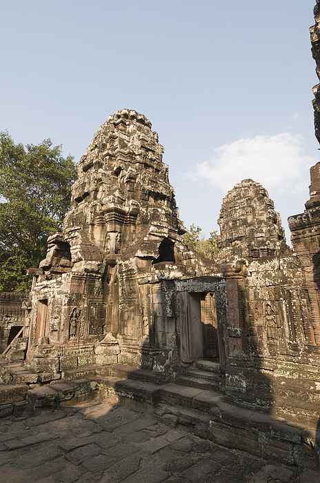 Banteay Kdei temple, Angkor Thom, Angkor, UNESCO World Heritage Site, Siem Reap, Cambodia, Indochina, Southeast Asia, Asia Photograph by Robert Harding / robertharding
