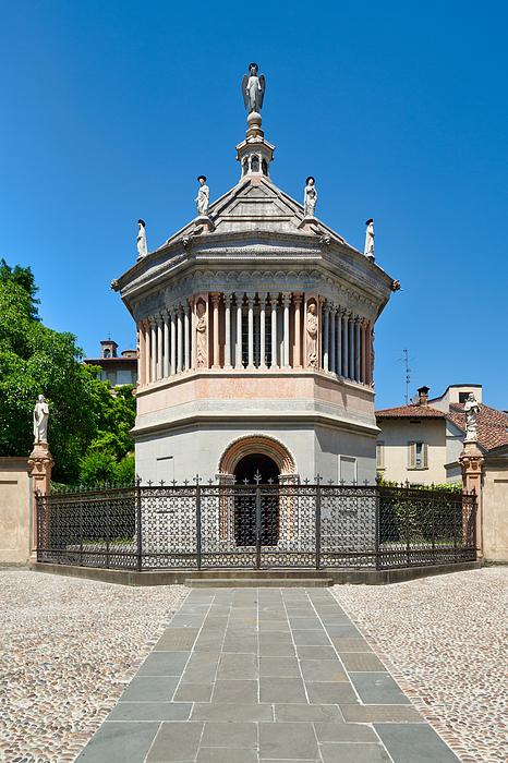 Baptistery In Città Alta (upper Town), Bergamo, Lombardy, Italy Photograph by Mauro Tandoi