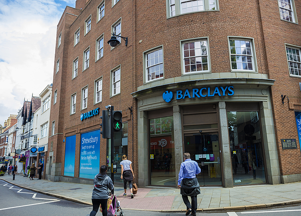 Barclays Bank Photograph by Lpettet