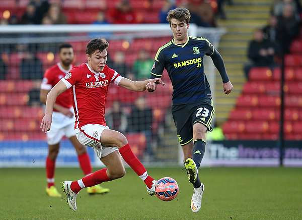 Barnsley v Middlesbrough - FA Cup Third Round Photograph by Jan Kruger