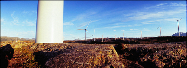 Barren Landscape With Wind Turbines Photograph by Willie Schumann / EyeEm
