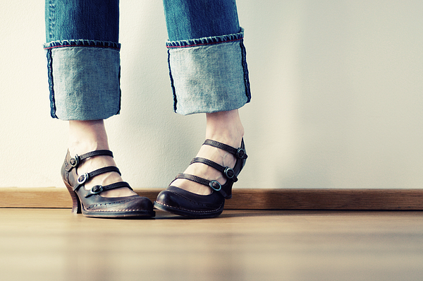 Bashful Feet Photograph by Michael Avina