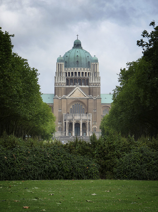 Basilica Of The Sacred Heart Photograph by Leonardo Regoli