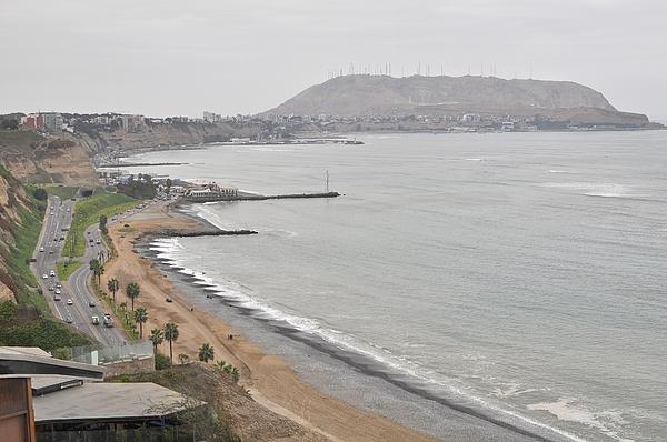 Beach at Miraflores in Lima Photograph by Markus Daniel