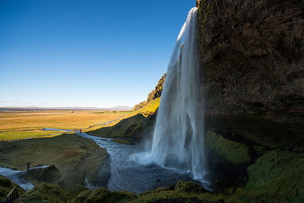 Beautiful Landscape View Of Seljalandsfoss Photograph by Nicepikaro