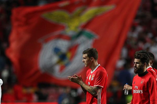 Benfica v Estoril: Portuguese Cup Photograph by Carlos Rodrigues