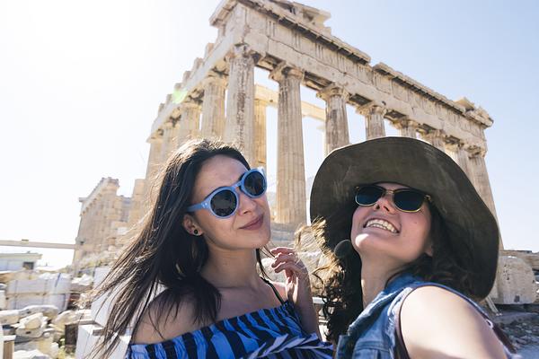Best Friends In A Vacation In Greece Photograph by Elitsa Deykova