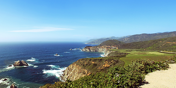 Big Sur - California Central Coastline Photograph by Zen Rial