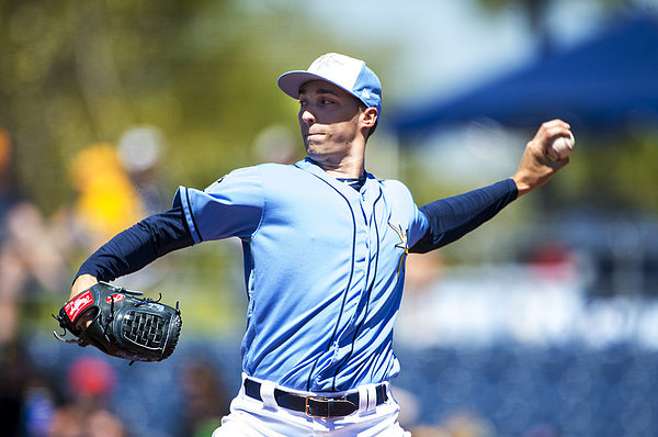 Blake Snell Photograph by Ronald C. Modra