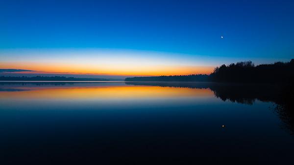 Blue Morning Sunrise Photograph by William Mevissen