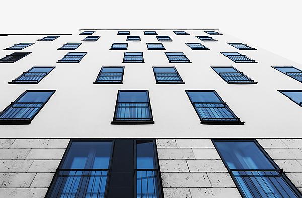 Blue Windows Photograph by Anton Schedlbauer
