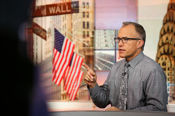BMO Capital Markets Corp. Chief Investment Strategist Brian Belski Interview Photograph by Bloomberg