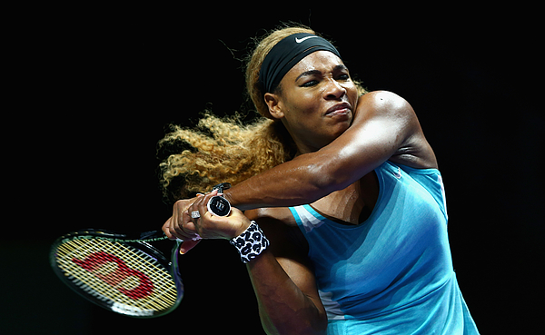 BNP Paribas WTA Finals: Singapore 2014 - Day Seven Photograph by Clive Brunskill