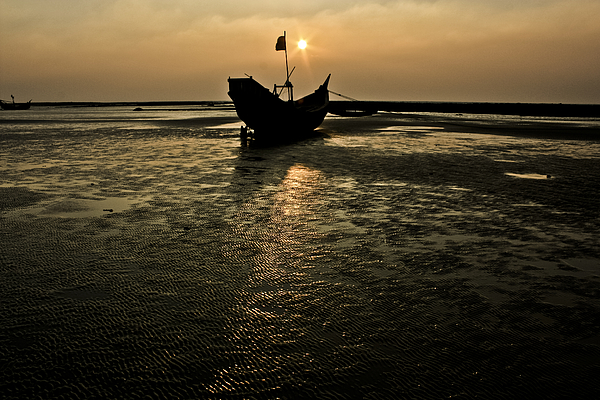 Boat And Sunset Photograph by © Md Minhaz Ul Islam Nizami