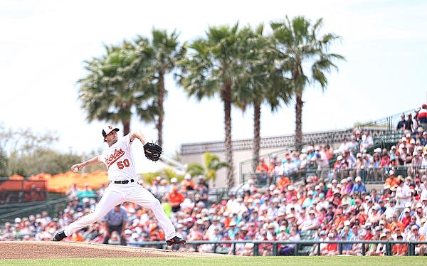 Boston Red Sox v Baltimore Orioles Photograph by Leon Halip