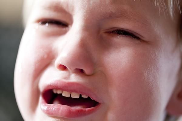 Boy Crying Photograph by Jenny Dettrick