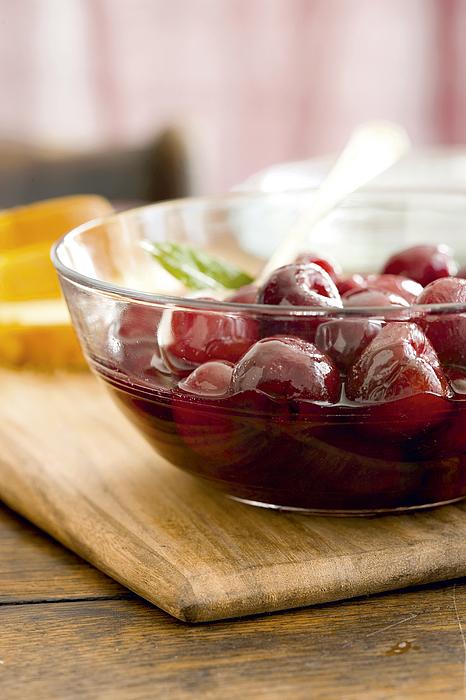 Brandied Cherries Photograph by Maren Caruso