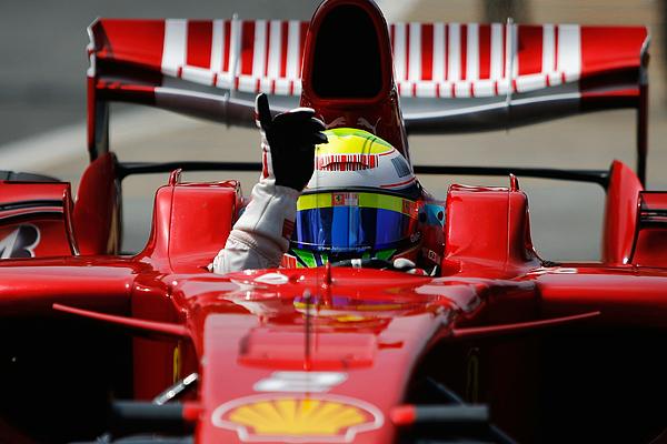 Brazilian Formula One Grand Prix: Qualifying Photograph by Paul Gilham