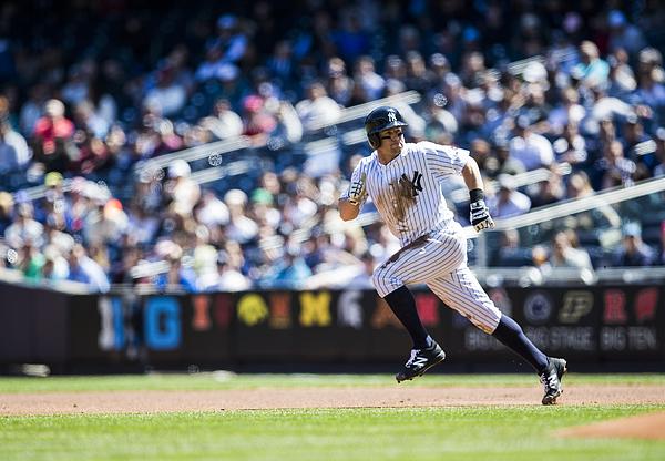 Brett Gardner Photograph by Rob Tringali/Sportschrome