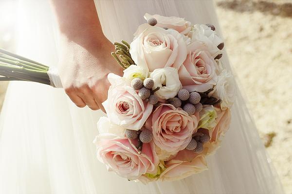 Bridal bouquet Photograph by Rafael Elias