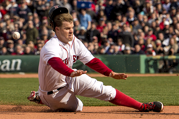Brock Holt Photograph by Billie Weiss/Boston Red Sox