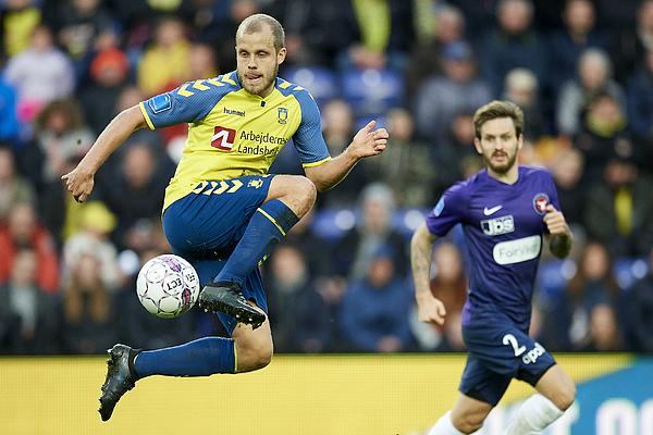Brondby IF vs FC Midtjylland - Danish DBU Pokalen Cup Semifinal Photograph by Jan Christensen