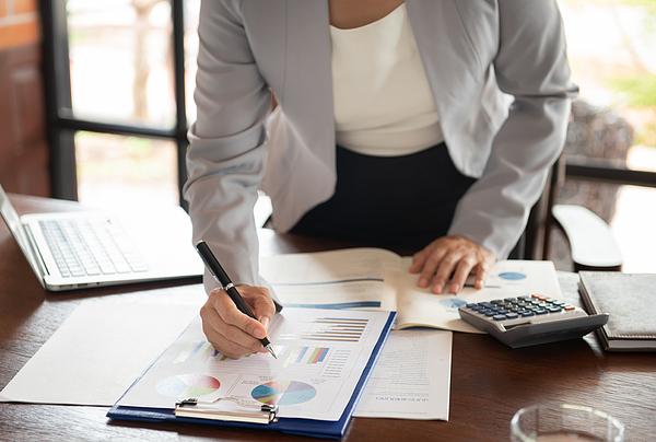 Businesswomen Working Photograph by Utah778