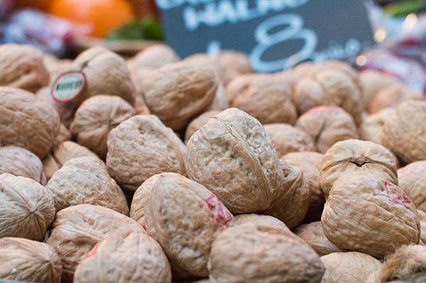Californian Walnuts In Borough Market, London Photograph by DavidCallan