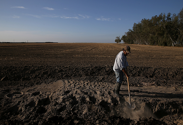 Californias Central Valley Heavily Impacted By Severe Drought Photograph by Justin Sullivan