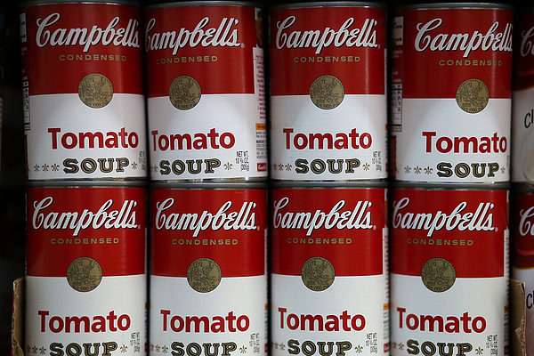 Campbell Soup Co. Posts Higher Earnings After Highest Soup Sales In 5 Years Photograph by Justin Sullivan