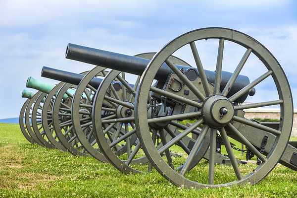 Cannons at Antietam National Battlefield Photograph by Drnadig