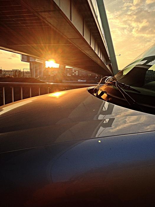 Car Under Bridge At Sunrise Photograph by Jrg Oyen / EyeEm