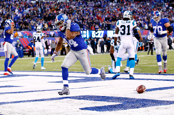 Carolina Panthers v New York Giants Photograph by Al Bello