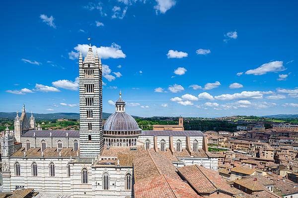 Cathedral Of Santa Maria Assunta, Siena, Tuscany Photograph by Mauro Tandoi