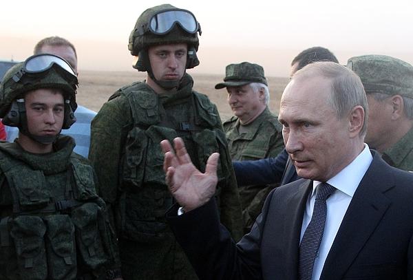 Center-2015 Military Exercises Photograph by Sasha Mordovets