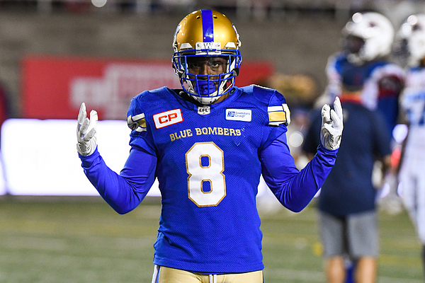 CFL: AUG 24 Winnipeg Blue Bombers at Montreal Alouettes Photograph by Icon Sportswire